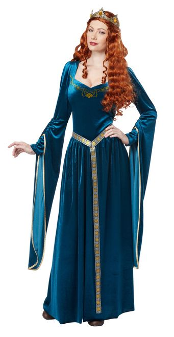 183251588d5 Medieval Lady Guinevere Costume in 2019