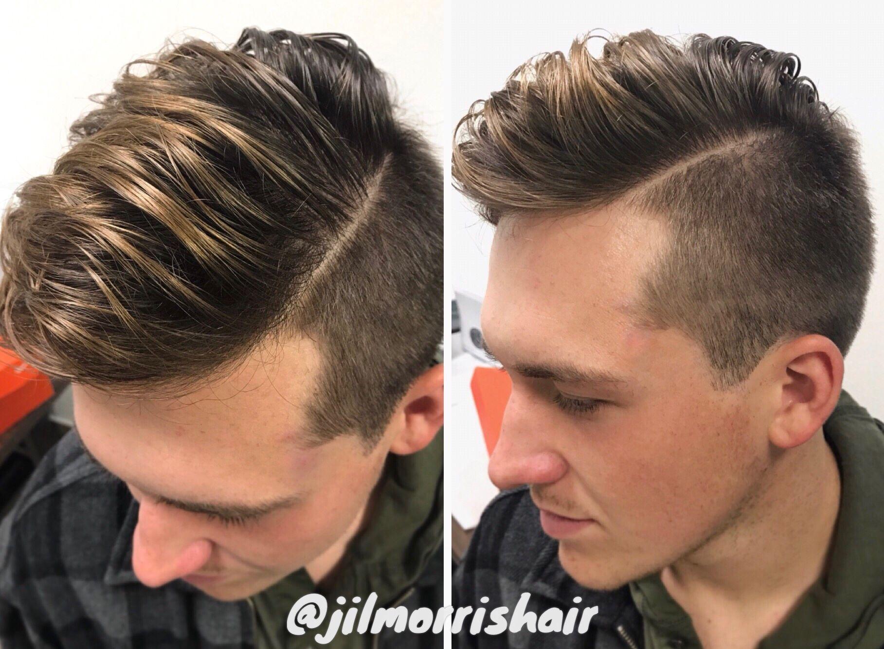 Beige Blonde Balayage Highlights For Men Brolayage Men S Hair Fashion Style Fade Haircut Bar Mens Hair Colour Beige Blonde Balayage Boys Hair Highlights