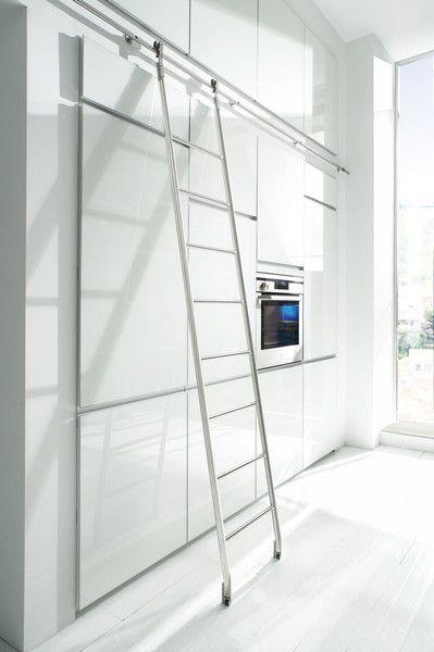 Sl 6090 Quattro Sliding Ladder Library Ladder Sliding Ladder Interior Doors For Sale