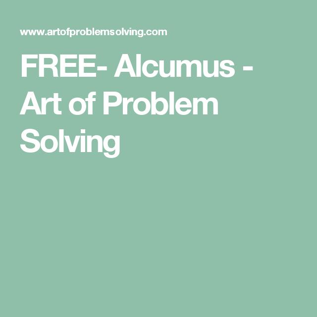 FREE- Alcumus - Art of Problem Solving | Teaching: MATH | Pinterest ...