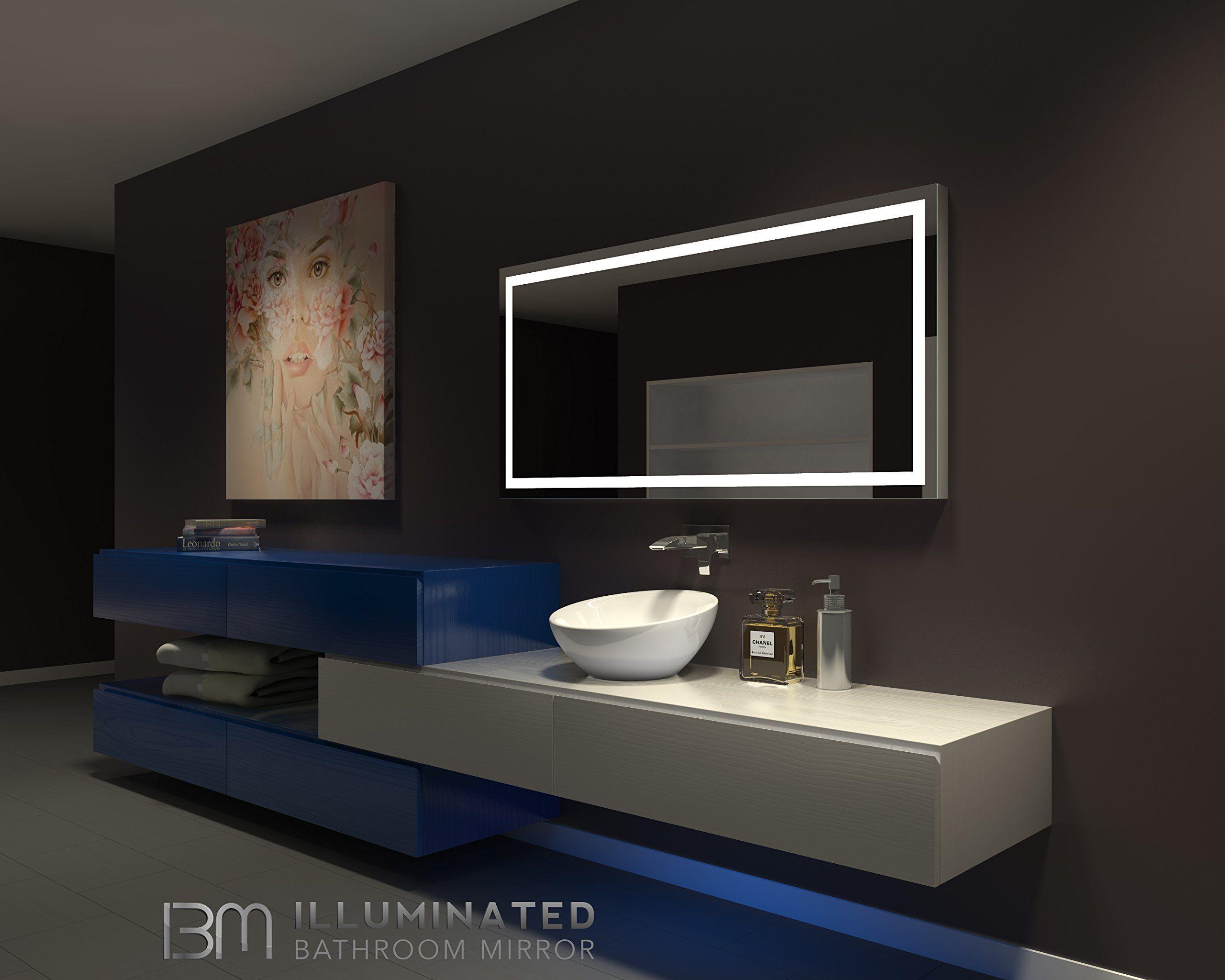 90 Lighted Vanity Mirrors Ideas Lighted Vanity Mirror Mirror With Lights Mirror