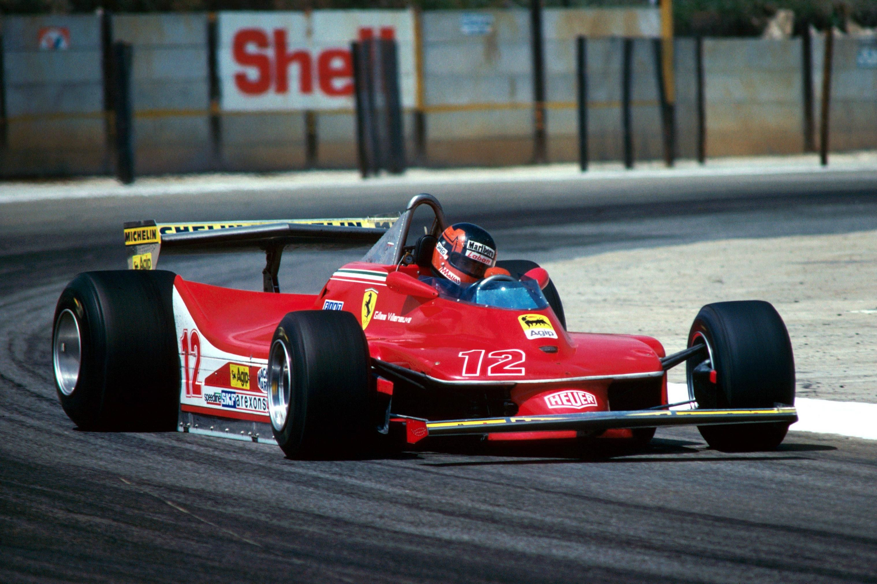 Gilles Villeneuve, Ferrari 312T4, 1979 South African GP