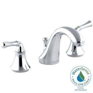 vibrant faucets bn rubicon nickel kohler sink widespread bathroom handle in faucet k p brushed