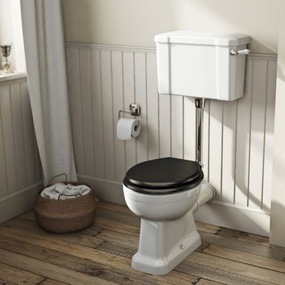 Outstanding The Bath Co Camberley Low Level Toilet With Wooden Soft Spiritservingveterans Wood Chair Design Ideas Spiritservingveteransorg