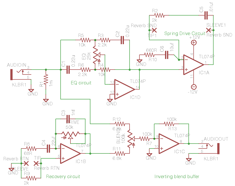 Reverb Driver Schematic - Wiring Diagram Img