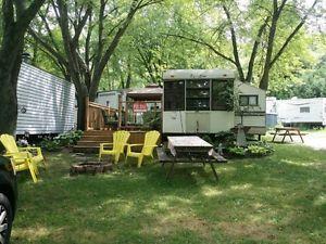 Camping London Ontario >> 38 Ft Trailer Wildwood Conservation Area London Ontario