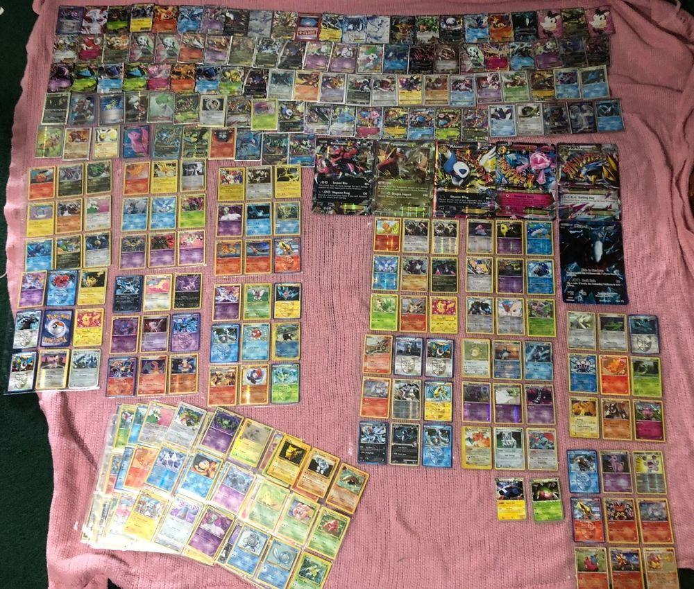 Pokemon card lot collection ultra secret rare holo full art binder