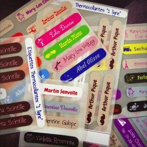Notre Pack Maternelle Etiquetas Termoadhesivas Etiquetas Para Marcar Ropa Etiquetas Ropa Niños