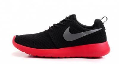 Nike Roshe Run 511881 016 Czerwone Czarne 41 4138040010 Oficjalne Archiwum Allegro Nike Roshe Run Nike Roshe Nike