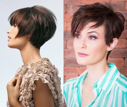 short hair ideas women 2014   Girls-Long-short-hairstyle-hair-cut-women-party-hair-cut-designs-2014.