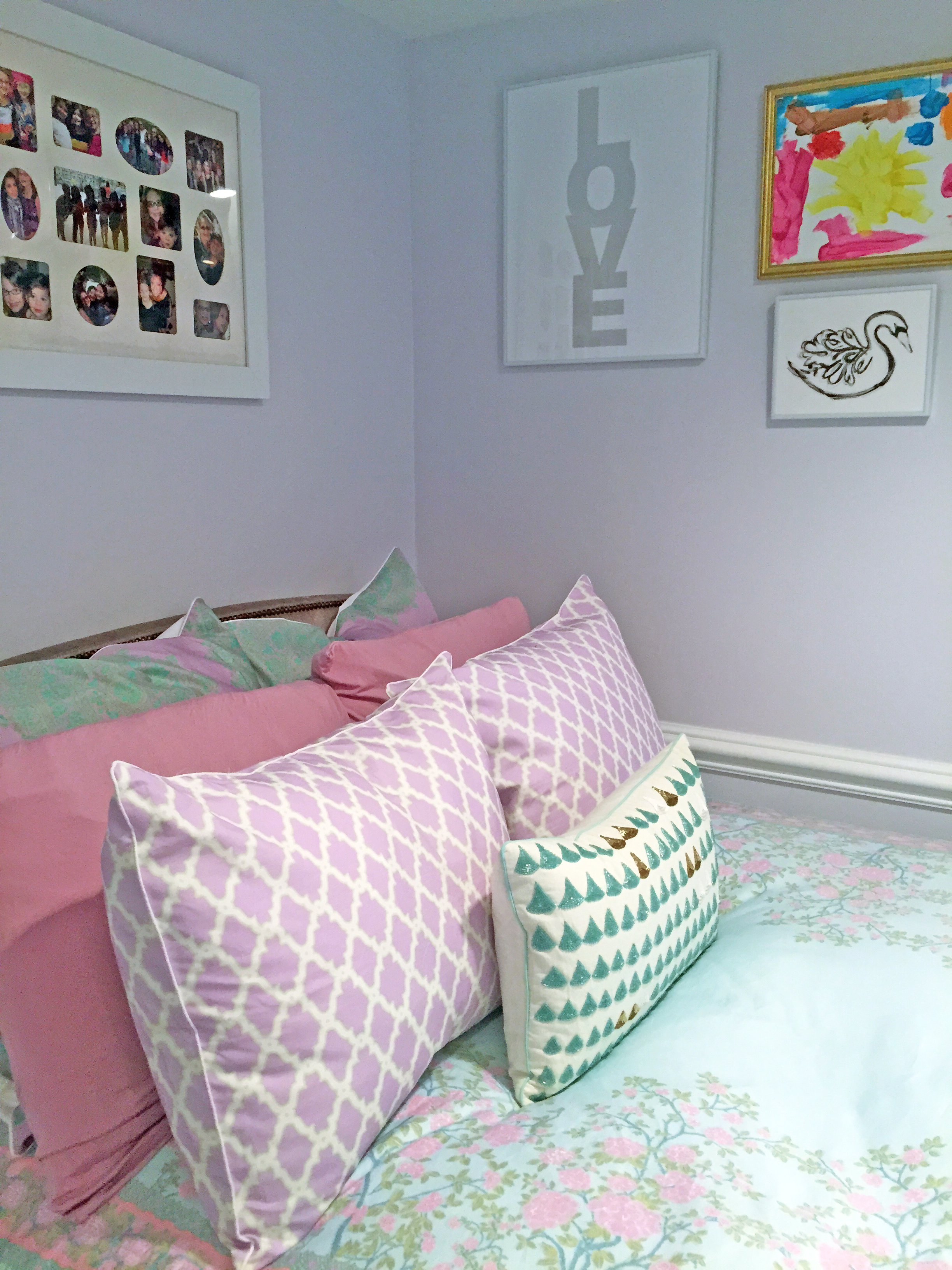 Lavender And Turquoise Girl S Room Big Girl Rooms