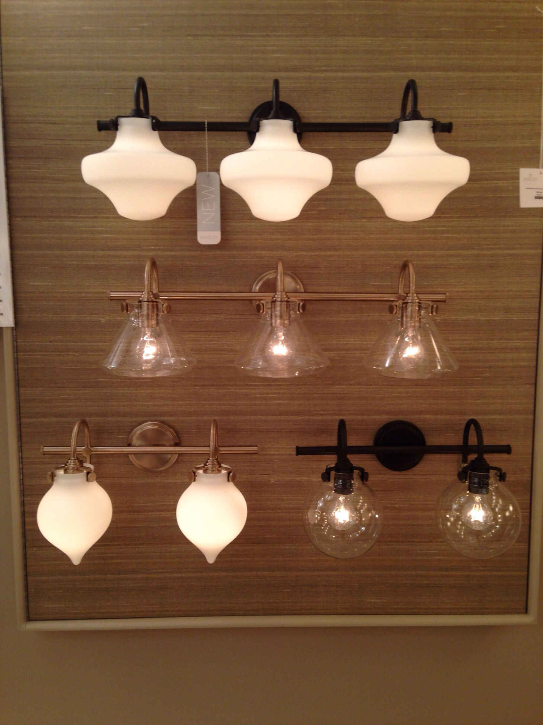 Pottery barn inspired vanity lights by hinkley lighting new finishes and styles at dallas lighting market