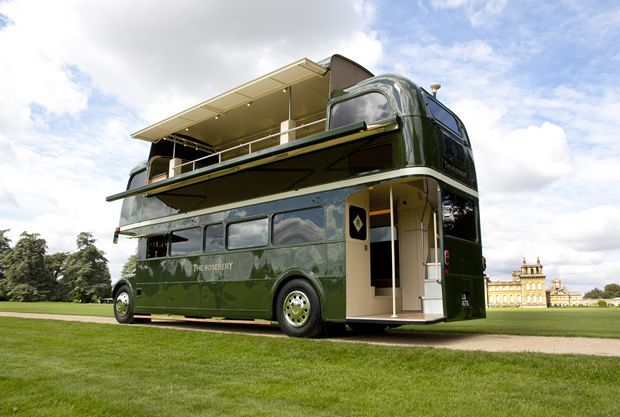 Amazing Custom Double Decker Rvs Cc Camping Bus Camper