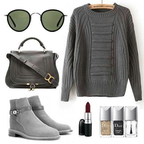Love the grey look....