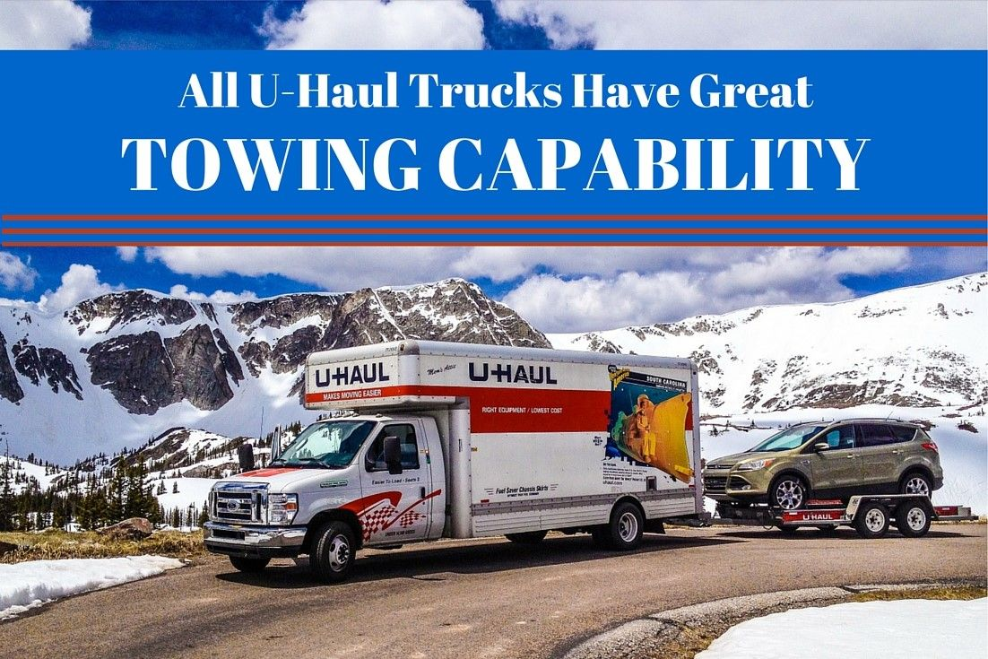 Did You Know All U Haul Moving Trucks From Pickups To 26 Trucks Have Towing Capabilities If You Need Some Extra Space Then Moving Truck U Haul Truck Trucks