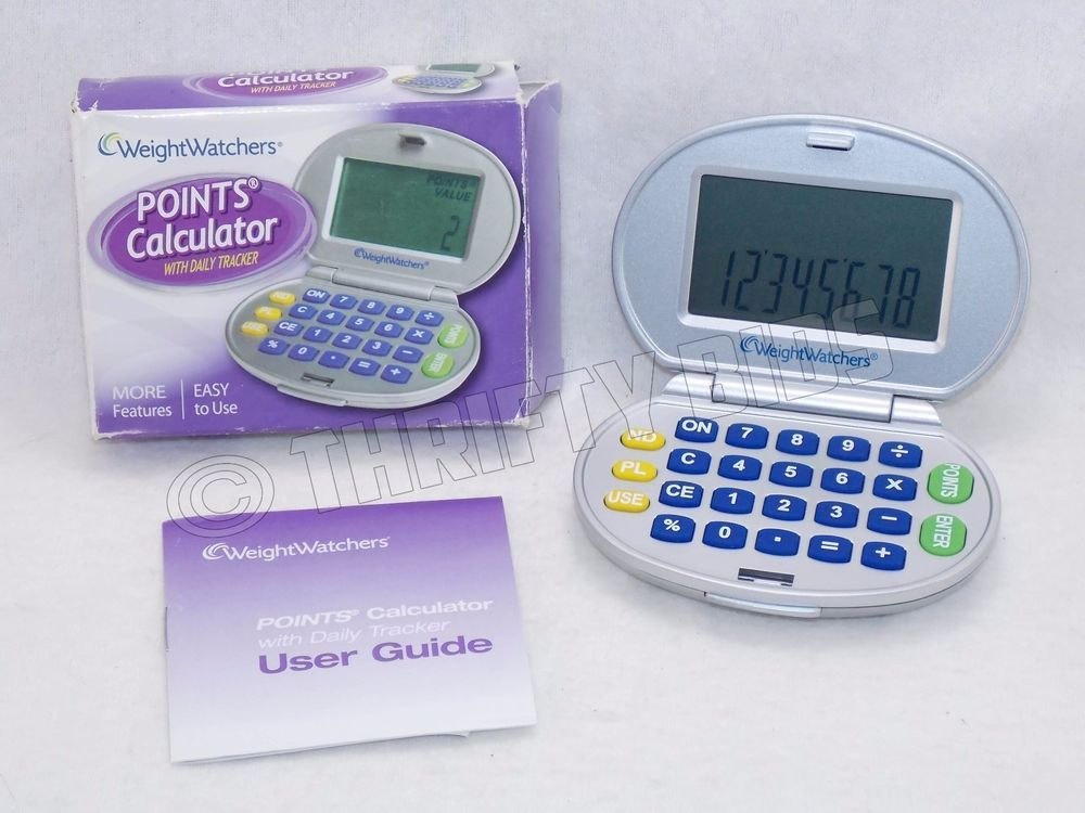 weight watchers nac 2a points calculator with daily tracker with rh pinterest ca weight watchers calculator instruction manual weight watchers calculator instruction manual