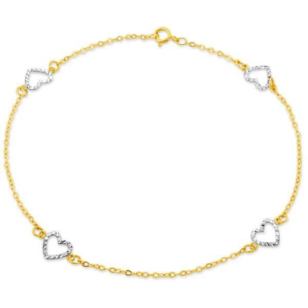 bismark gg solid deals anklet latest chain gold