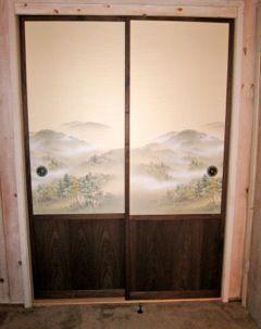 Custom made Japanese fusuma doors & Custom made Japanese fusuma doors   for the home   Pinterest ...