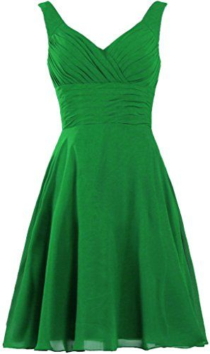 40ea8c99a07 ANTS Women s Pleated Sweetheart Bridesmaid Dresses A Line Cocktail Gown  Size 2 US Green ANTS http   www.amazon.com dp B00XLEAUSO ref  ...