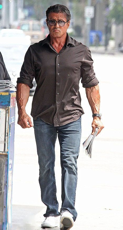 Sylvester Stallone Height