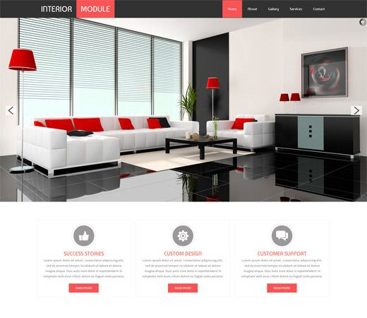 Modern Interior Design Sites: Are You Looking For A High Quality HTML Template? A