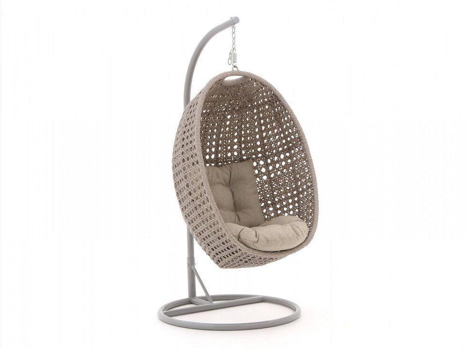 Hippe hangstoel voor binnen en buiten inclusief kussen ...