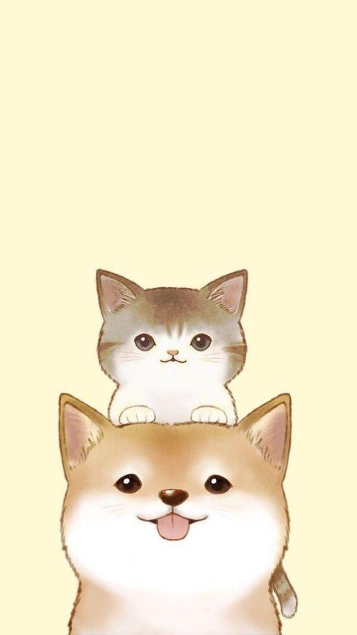 Cute Cat Wallpapers Cute Drawings Cute Cartoon Wallpapers Kawaii Drawings