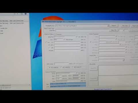S206 - SIM,USIM,LTE,CCID Card Reader Writer Tool - YouTube