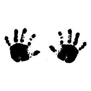 Pin By Asdis Erla On Cute Baby Silhouette Baby Hands Baby Clip Art