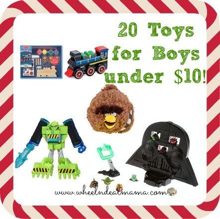 20 Toys For Boys Under 10 Dollars