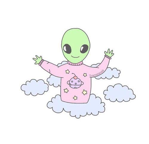 Alien Tumblr Png Google Search Cute Alien Alien Art Alien Aesthetic