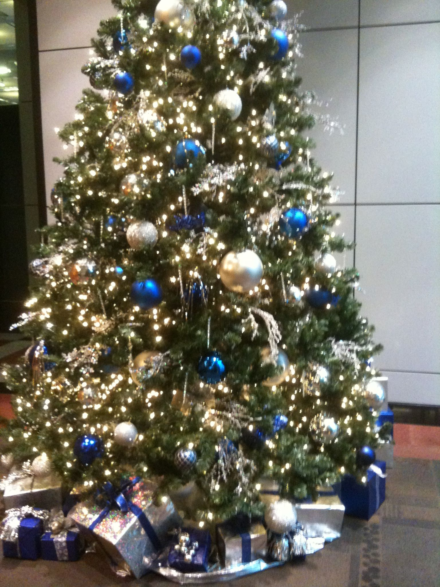 office christmas tree google search