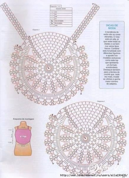 Patrón #662: Blusa para Niña tejida a Crochet | CTejidas [Crochet y ...