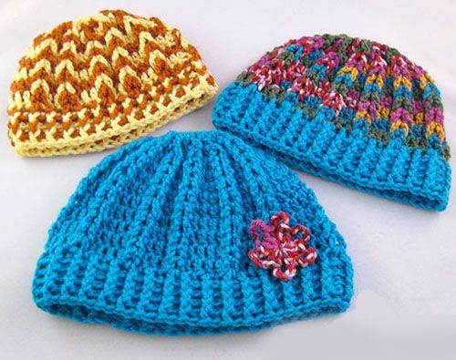 Accidental Beanie - Free Pattern (Crochet For Children)