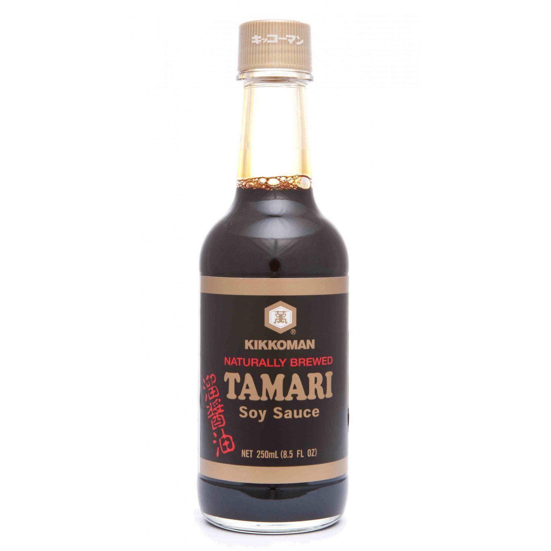 B0030 kikkoman naturally brewed tamari soy sauce 250ml