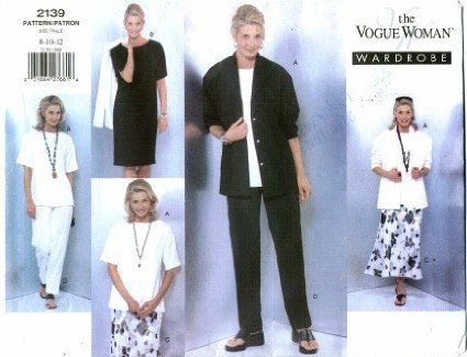 vogue 2139 - tshirt pattern 1.5m 115cm or 1.2 for 150cm