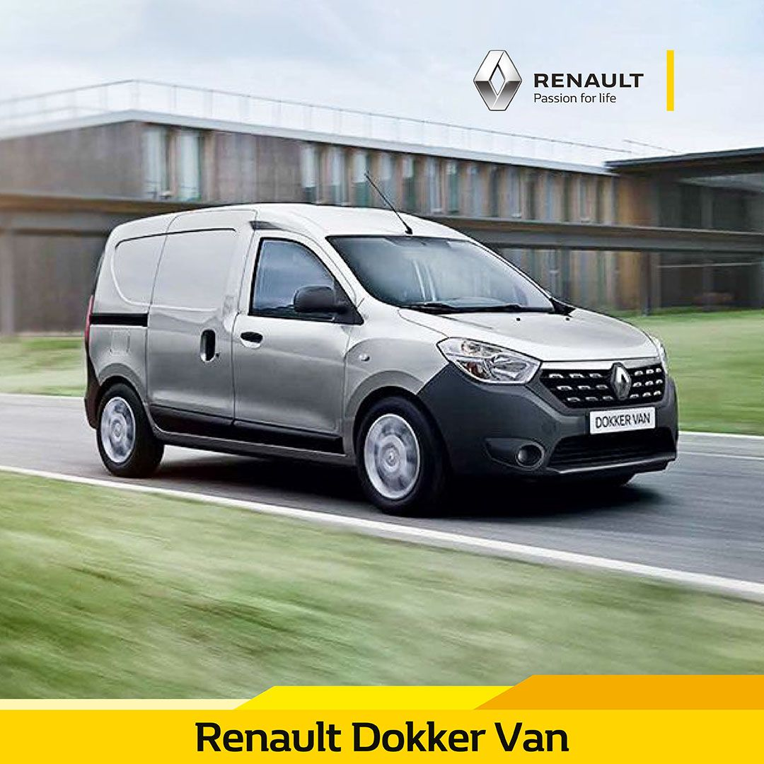Renault Dokker Van In 2020 Commercial Vehicle Renault Utility Vehicles
