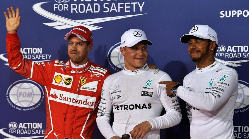[2017 F1] 3차전 바레인 Gp 예선 – 발테리 보타스 F1 첫 폴 획득