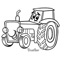 funny finished coloring book pages | Top 25 Free Printable Tractor Coloring Pages Online ...