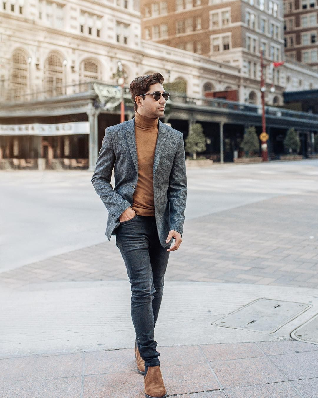 Classy fall outfits for men for Autum urban casual in