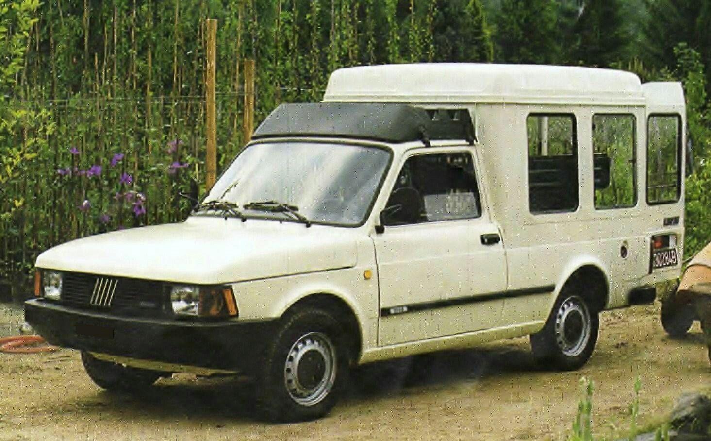 Fiat Fiorino I Auf Basis Des Fiat 127