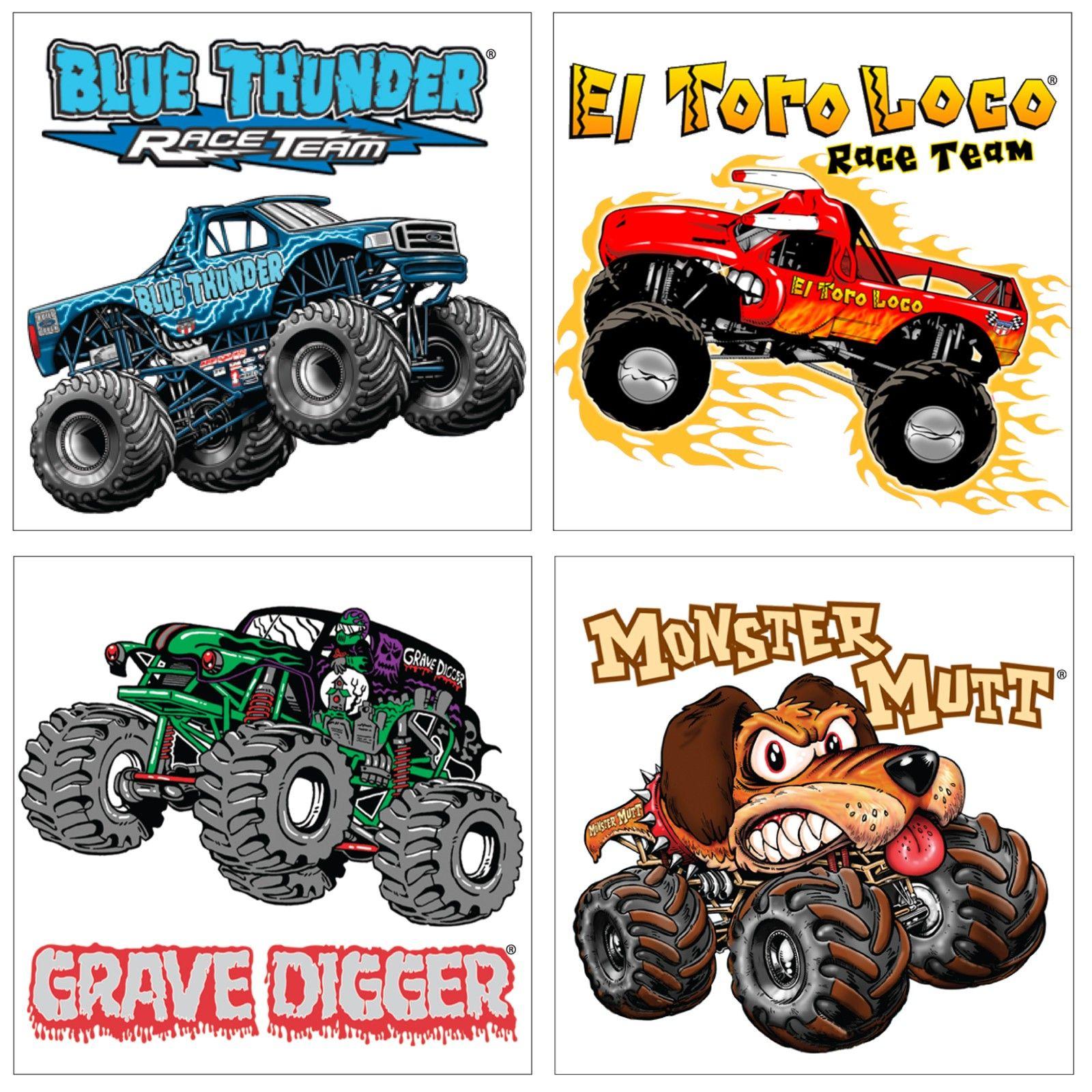 Monster Jam 3d Tattoos Monster Jam Birthday Party Monster Jam Birthday Monster Trucks Birthday Party