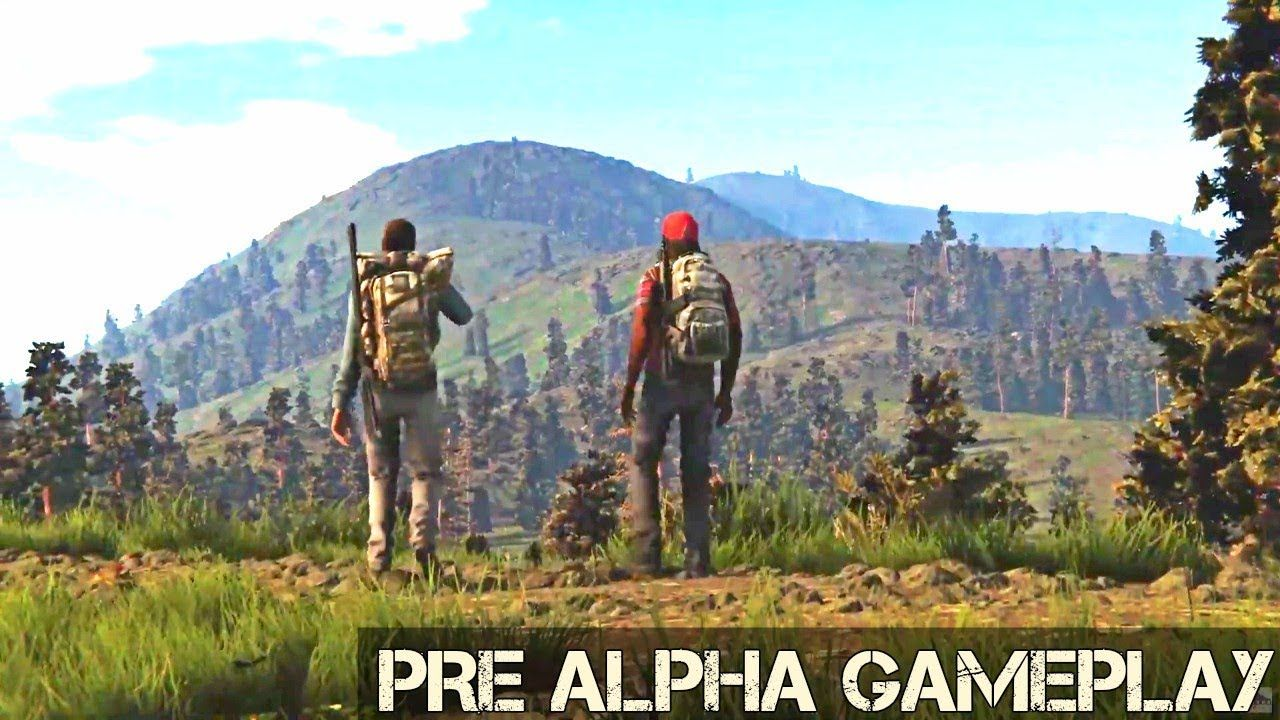 New Mmo 2020.Raw Pre Alpha Gameplay Reveal New Open World Survival Mmo