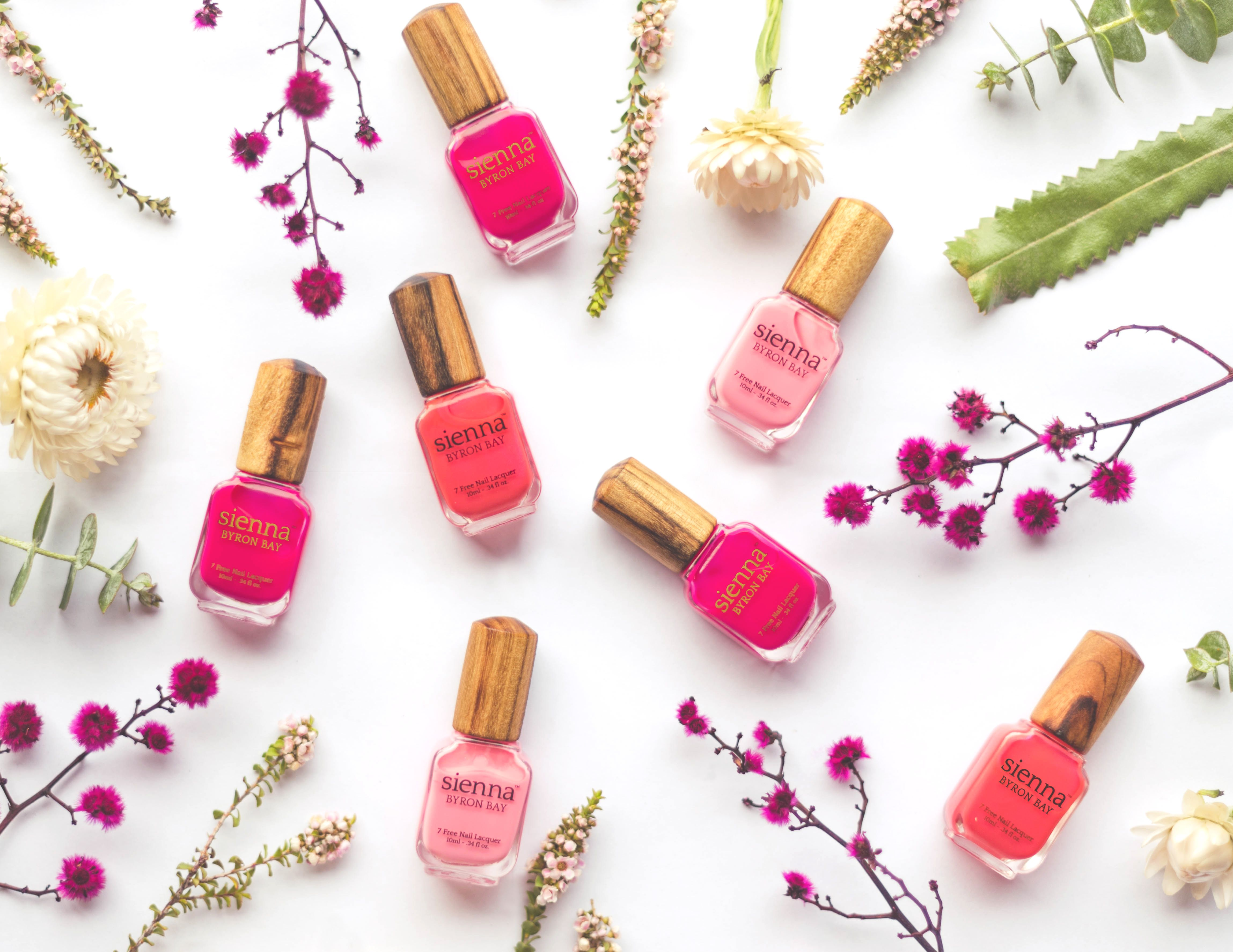 Toxin free nail polish with sustainably sourced Camphor