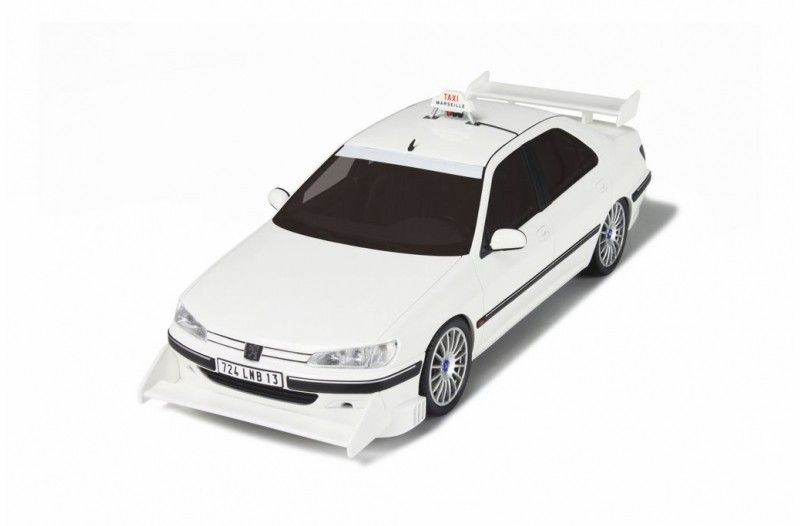 PEUGEOT 406 TAXI WHITE - Car models - Die-cast | Hobbyland Scale ...