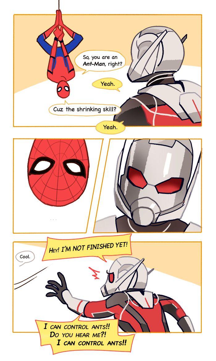 Peter Parker aka Spider-Man & Scott Lang aka Ant-Man | art