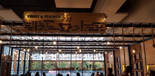 Frost and Feather- Wooden Menu Board | Frost, Feather, Wooden