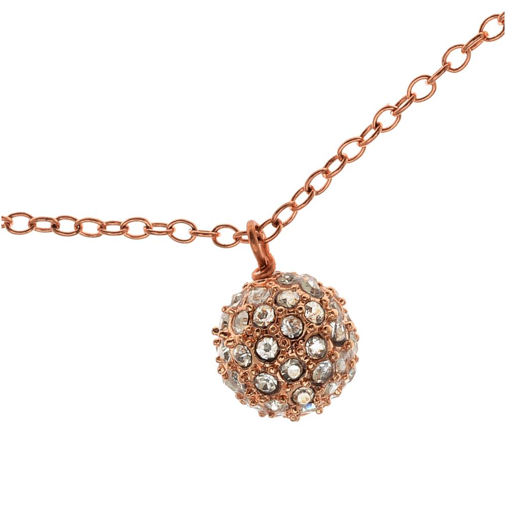 Tutorial How to Urban Ball Necklace Rose Gold Beadaholique