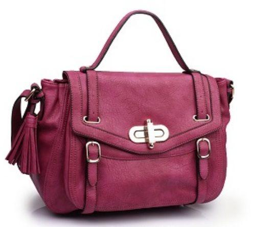 Urban Expressions Handbags Minx Vegan Leather Satchel