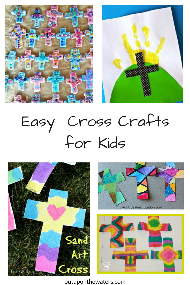 Crafts for Kids and Fun Home Activities Cross in Heart Tissue Craft Kit